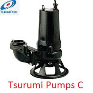Bơm chìm nước thải Tsurumi cánh cắt 100C42.2